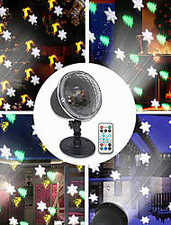 cheap -Led Projection Lamp Christmas Party Theme Series Remote Control Holiday Atmosphere Lighting 4Modes SnowflakesTrees Bells Elk