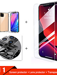 cheap -3-in-1  Tempered Glass For iphone 11 Pro Max Case  Camera Protective Glass For iphone 11 Pro Screen Protector For iphone 11