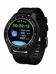 cheap -Smartwatch Digital Modern Style Sporty Silicone 30 m Water Resistant / Waterproof Heart Rate Monitor Bluetooth Digital Casual Outdoor - Black Orange Green