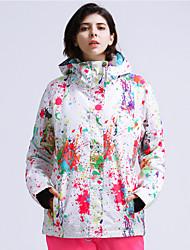 Недорогие -GSOU SNOW Жен. Лыжная куртка Зимние виды спорта Лыжные очки Лыжи Зимние виды спорта Полиэфир Верхняя часть Одежда для катания на лыжах / Зима