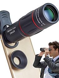 Недорогие -объектив мобильного телефона универсальный 18x оптический зум-объектив ручной телескопический объектив с зажимом для iphone samsung и большинства android-смартфонов by leaysoo