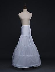 abordables -Mariage / Fête / Soirée Déshabillés Tulle Ras du Sol Robe sirène et robe évasée avec