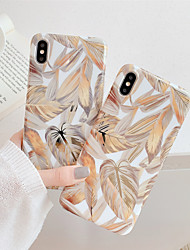 cheap -Phone Case For Apple Back Cover iPhone 12 Pro Max 11 SE 2020 X XR XS Max 8 7 6 Plating IMD Pattern Marble TPU