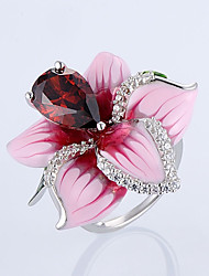 cheap -Women's Open Ring 1pc Silver Alloy Daily Jewelry