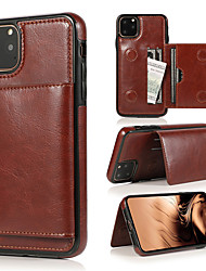 cheap -Luxury Magnetic PU Leather Flip Wallet Cover Phone Case For iphone 11 Pro Max Card Holder Stand Cases