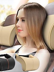 cheap -Car Headrests Leather Memory Foam Car Cushion Pillow Head Rest