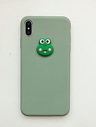 cheap -Case For Apple iPhone XS / iPhone XR / iPhone XS Max Ultra-thin / Frosted / Pattern Back Cover Animal / Cartoon TPU / PC