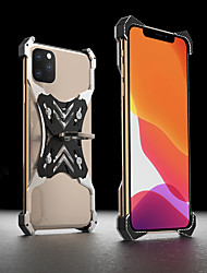 cheap -Slim Shockproof Aluminum Metal Case For iPhone 11 Pro Max Mechanical Armor Back Cover For iPhone 11/ iPhone X / XR /iPhone 8/ iPhone 7