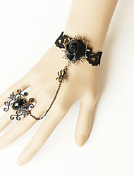 cheap -Witch Ring Bracelet / Slave bracelet Retro Vintage Halloween Alloy Masquerade For Masquerade Party / Cocktail Halloween Carnival Women's Costume Jewelry Fashion Jewelry / Bracelets