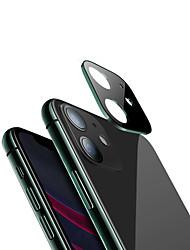 Недорогие -для iphone 11 3d полная задняя крышка объектива камеры протектор экрана для iphone 11 pro max 2019 пленка из закаленного стекла алюминиевый металлический корпус объектива