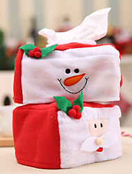 cheap -2pcs  Merry Christmas Santa  Tissue Box Stand Home Decoration  Napkin Ring For Paper Towel