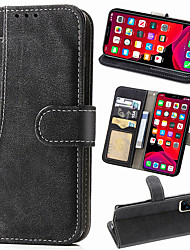 cheap -Frosted Leather Flip Wallet Case For iphone 11 Pro Max XR XS Max X 8 Plus 7 Plus 6 Plus Phone Case Magnetic Card Holder Stand Cover