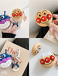 cheap -Cartoon Earphone Case for Airpods 2 Case Silicone Bread Cute Headphone Case for Apple Air Pods Cover Japan headphone Accessories