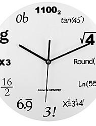 abordables -horloge murale silencieuse facile à lire maison / bureau / salle de classe / horloge d'école