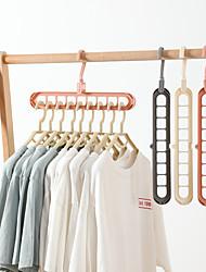 Недорогие -Многофункциональный складной вешалка вращающийся волшебный вешалка для одежды шкаф организатор дома спальня стеллаж