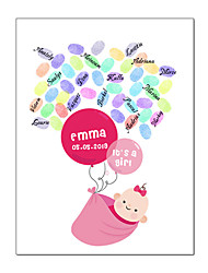 cheap -Event / Party / Baby Shower Party Accessories Canvas Print Patterned Canvas Garden Theme / Classic Theme / New Baby