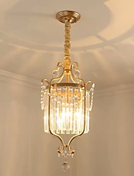 Недорогие -QIHengZhaoMing 35 cm Подвесные лампы Металл Окрашенные отделки Modern 110-120Вольт / 220-240Вольт