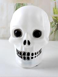 cheap -Halloween Skull Night Light Wicky Skull Decoration Supplies for Party Random Color