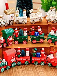 cheap -1pcs Christmas Wooden Toys Train Innovative Gift Toys Boy Children  Diecasts And Toy Vehicles