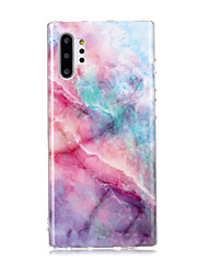 cheap -Case For Samsung Galaxy Note 9 / Note 8 / Galaxy Note 10 IMD / Pattern Back Cover Marble TPU