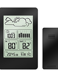 cheap -Multi-functional Wireless Weather Station Clock LCD Digital Thermometer Hygrometer