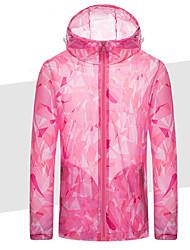 cheap -Women's Track Jacket Running Jacket Long Sleeve Breathable Running Sportswear Athleisure Wear Top Rose Pink Activewear / Windbreaker