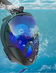 cheap -Diving Mask Underwater Single Window - Diving Silicone - For Adults Black