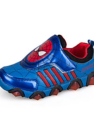 cheap -Boys' / Girls' Comfort / Christmas PU Athletic Shoes Little Kids(4-7ys) / Big Kids(7years +) Running Shoes / Walking Shoes Red / Blue Spring / Fall