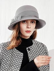 cheap -100% Wool Hats with Rhinestone 1pc Casual / Daily Wear Headpiece