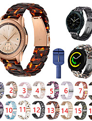 cheap -For Samsung Galaxy Watch Active 2/Active/42mm/Gear Sport /S2 classic Resin Strap Butterfly Buckle and Strap regulator