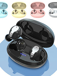 cheap -LITBest Bluetooth 5.0 Earphone 3D Stereo Wireless Earbuds CVC Noise Cancelling Touch Control Headset Sport Binaural Microphone