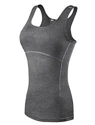 cheap -Women's Workout Tank Low-cut Yoga Running Fitness Lightweight Breathable Quick Dry Sportswear Tank Top Sleeveless Activewear High Elasticity