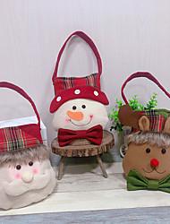 cheap -Children Christmas Santa Claus Handbag Christmas Decoration Candy Bag