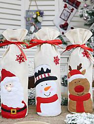 Недорогие -праздничные украшения рождественские украшения рождественские украшения / декоративные предметы орнамент 3шт