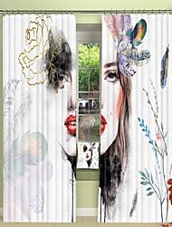 cheap -White Masquerade Ball Digital Printing 3D Curtain Shading Curtain High Precision Black Silk Cloth High Quality Curtain