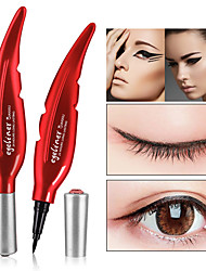 cheap -Quick drying Black Eyeliner Waterproof Liquid Eye Liner Pencil Pen Make Up Beauty Cosmetics