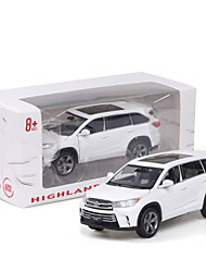 cheap -1:32 Toy Car Vehicles Car Transporter Truck SUV Climbing Car Glow New Design Simulation Zinc Alloy Rubber All Boys and Girls