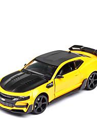 Недорогие -1:24 Игрушечные машинки Транспорт Автомобиль Гоночная машинка Машинки Формулы 1 Гоночная машинка Специально разработанный Фокусная игрушка моделирование сплав цинка Ластик / Дети