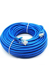 cheap -50 Meters RJ-45 Blue Ethernet Internet LAN CAT5e Network Cable for Computer Modem Router