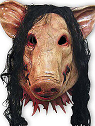 cheap -Mask Halloween Props Halloween Mask Inspired by Pig Scary Movie Cuticolor Masks Halloween Halloween Men's Women's