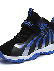 cheap -Boys' Comfort PU Athletic Shoes Big Kids(7years +) Basketball Shoes Black / Blue Fall / Color Block