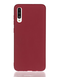 cheap -Phone Case For Samsung Galaxy Back Cover A7 S10 S10 + Galaxy S10 E Galaxy J4 Plus(2018) Galaxy J6 Plus(2018) A10 A30 A50 A20 Shockproof Solid Color TPU