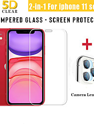 cheap -2-in-1 Back Camera Lens Screen Protector For iPhone 11 Pro Max Full Cover Tempered Glass Protective Film For iPhone 11