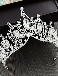 cheap -Rhinestone / Alloy Tiaras with Crystal / Rhinestone 1 Piece Wedding Headpiece