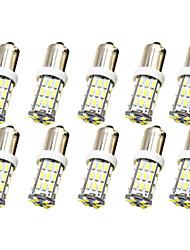 Недорогие -10 шт. BA9S / BAX9s Автомобиль Лампы 1 W SMD 3014 250 lm 42 Светодиодная лампа Подсветка для номерного знака / Рабочее освещение / Задний свет Назначение Универсальный Avenger / Elysee / 9-5