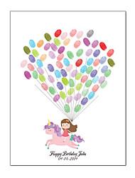 Недорогие -Для праздника / вечеринки / День рождения Аксессуары для вечеринок Холст для печати С узором холст Сад / Классика / Новорожденный