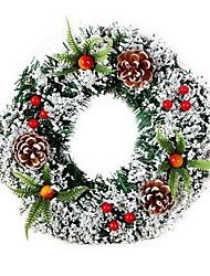 Недорогие -Праздничные украшения Украшения для Хэллоуина Рождество Декоративная Травянисто-зелёный 1шт