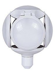 abordables -1pcs nouveau concept led football pliant ampoule ufo 5 feuilles 40w e27 mettre en évidence extensible ampoule large tension nouveaux produits