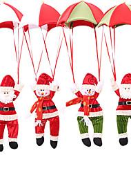 cheap -Christmas Tree Hanging Decoration Parachute Snowman Santa Claus Ornaments Christmas