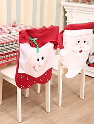 cheap -Non-woven Big Christmas Chair Sets 44*54Cm